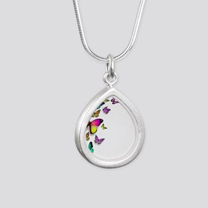 Colorful Butterfly Necklaces