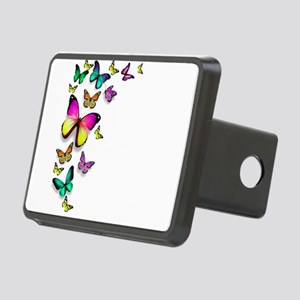 Colorful Butterfly Hitch Cover