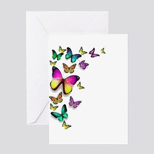 Colorful Butterfly Greeting Cards