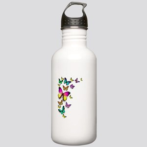 Colorful Butterfly Water Bottle