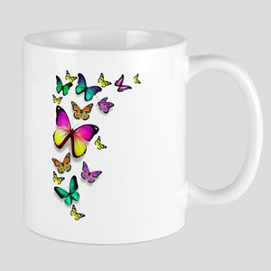 Colorful Butterfly Mugs
