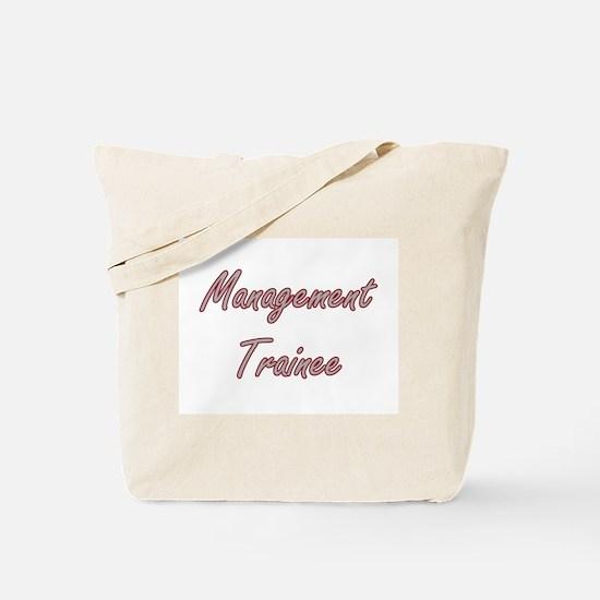 Management Trainee Artistic Job Design Tote Bag