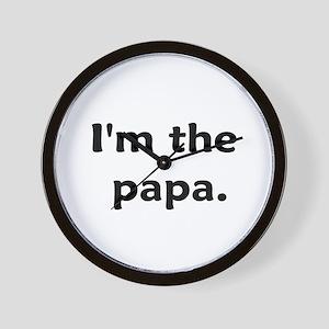 I'm The Papa Wall Clock