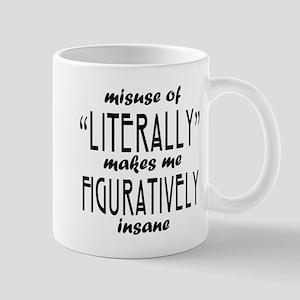 Misuse of Literally Mug