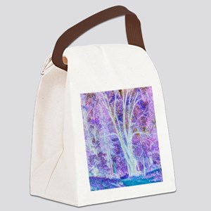 The Dancing Tree Canvas Lunch Bag