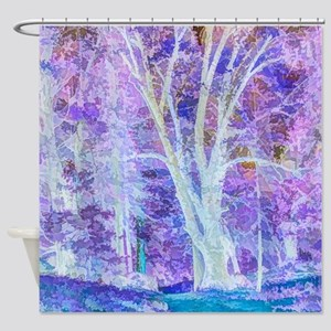 The Dancing Tree Shower Curtain