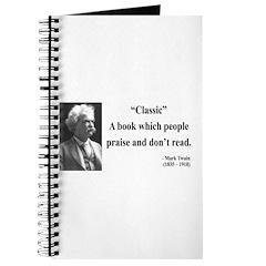 Mark Twain 25 Journal