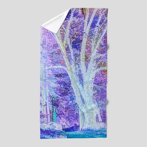 The Dancing Tree Beach Towel
