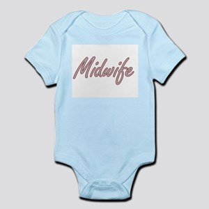Midwife Artistic Job Design Body Suit