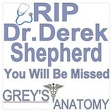 Dr. Derek Shepherd Poster