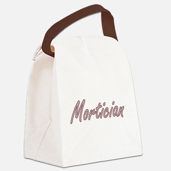 Mortician Artistic Job Design Canvas Lunch Bag