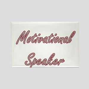Motivational Speaker Artistic Job Design Magnets