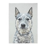 Australian Cattle Dog 5'x7'Area Rug