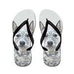 Australian Cattle Dog Flip Flops