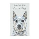 Australian Cattle Dog Sticker (Rectangle 50 pk)