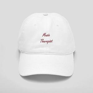 Music Therapist Artistic Job Design Cap