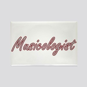 Musicologist Artistic Job Design Magnets
