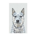 Australian Cattle Dog Sticker (Rectangle 10 pk)