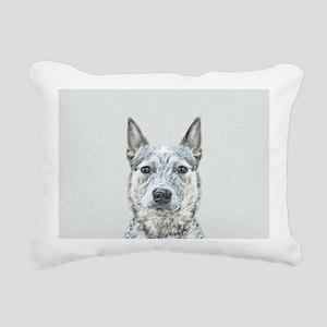 Australian Cattle Dog Rectangular Canvas Pillow