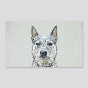 Australian Cattle Dog Area Rug