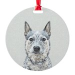Australian Cattle Dog Round Ornament