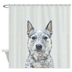 Australian Cattle Dog Shower Curtain
