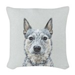 Australian Cattle Dog Woven Throw Pillow