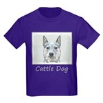 Australian Cattle Dog Kids Dark T-Shirt