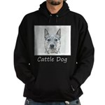 Australian Cattle Dog Hoodie (dark)