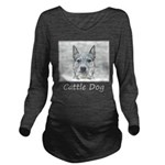 Australian Cattle Do Long Sleeve Maternity T-Shirt