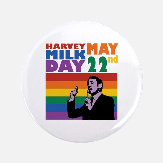 Harvey May Milk Day 22nd Button