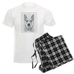 Australian Cattle Dog Men's Light Pajamas