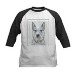 Australian Cattle Dog Kids Baseball Tee