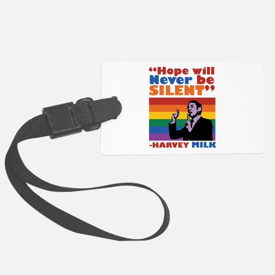 Hope Will Never Be Silent Luggage Tag