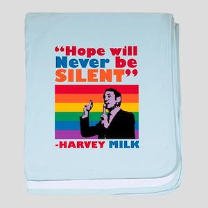 Hope Will Never Be Silent baby blanket