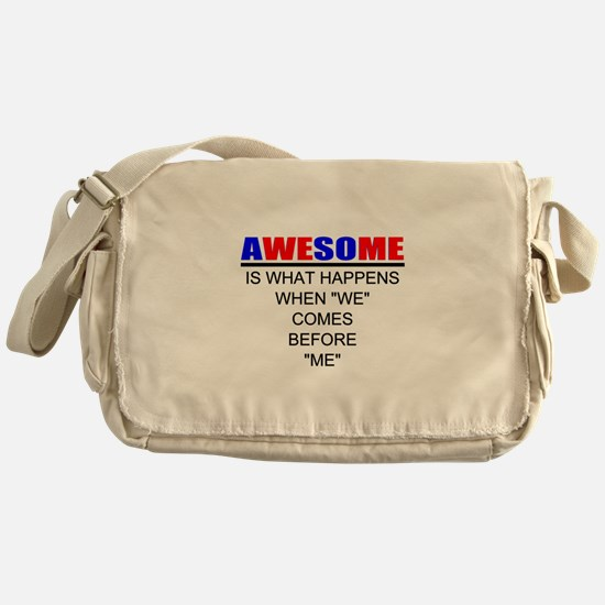 Inspiration Messenger Bag