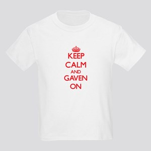 Keep Calm and Gaven ON T-Shirt