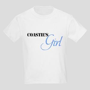 Coastie's Girl Kids Light T-Shirt