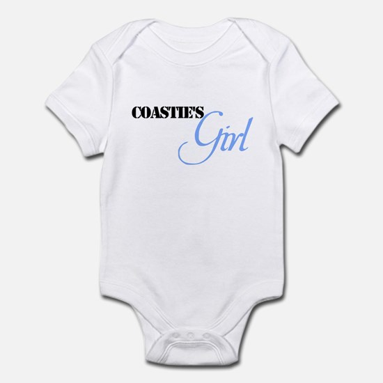 Coastie's Girl Infant Bodysuit