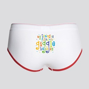Giggle Bubbles Women's Boy Brief