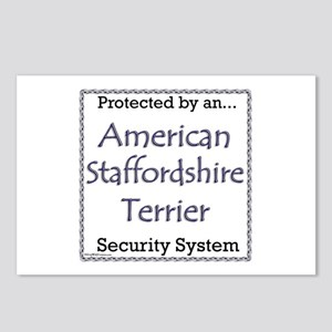 Am Staff Security Postcards (Package of 8)