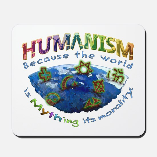 Humanism vs Myth Mousepad