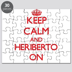 Keep Calm and Heriberto ON Puzzle