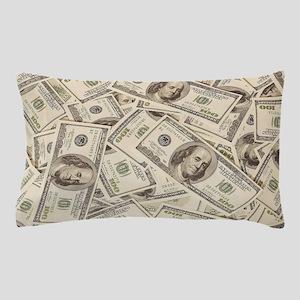 Dollar Bills Pillow Case