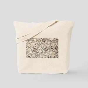 Dollar Bills Tote Bag