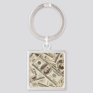 Dollar Bills Keychains