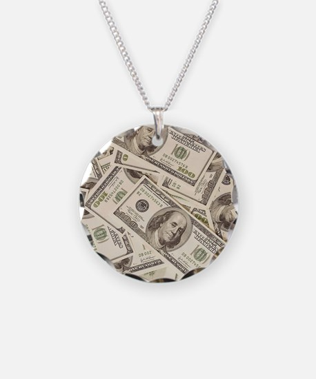 Dollar Bills Necklace