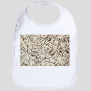Dollar Bills Bib