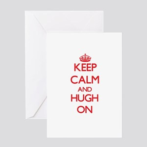 Keep Calm and Focus onh ON Greeting Cards