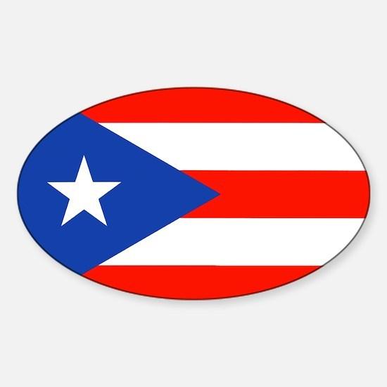 Boricua Bandera Puerto Rican Orgullo 4 Enr Decal